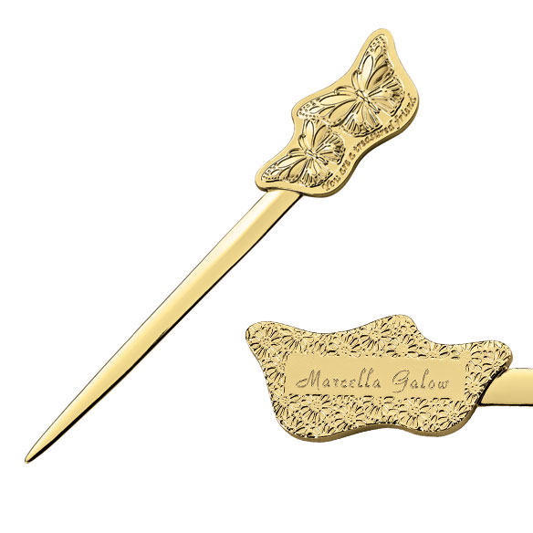 treasured friend personalized letter opener view 1