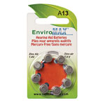 View All Sale - Fuji EnviroMax A13 Hearing Aid Batteries - 8-Pack