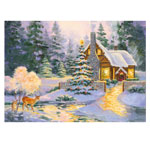 View All Sale - Glowing Cottage Jigsaw Puzzle