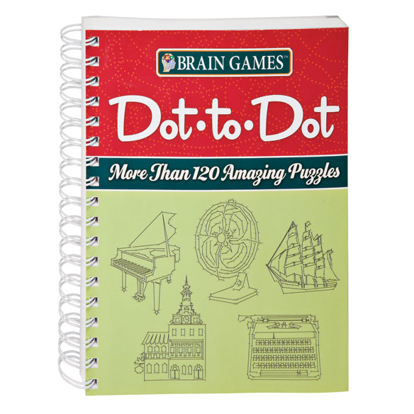 Brain Games® Dot to Dot Puzzle Book - View 1