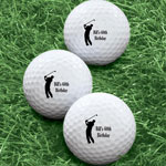 Closeout Deals - Personalized Men's Golf Balls - Set of 6