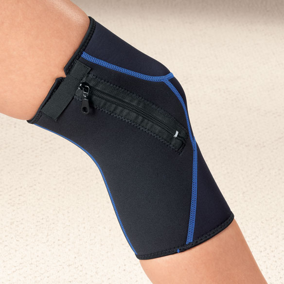 Zippered Knee Wrap