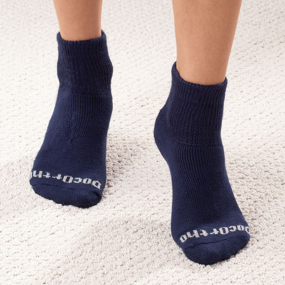 Quarter Cut DocOrtho™ Diabetic Socks - 3 Pack