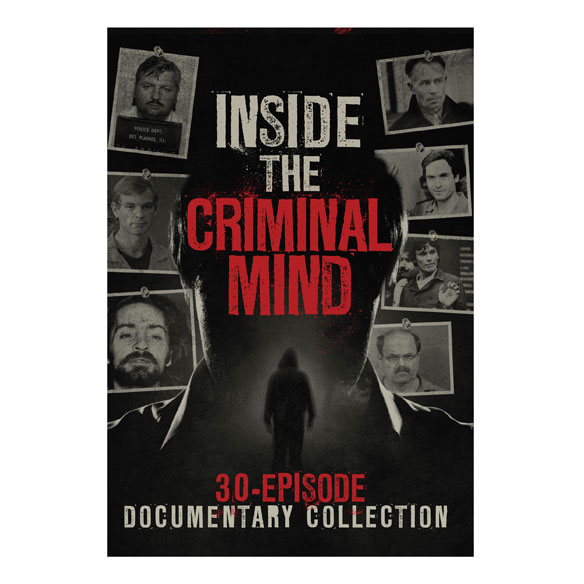 Inside the Criminal Mind: 30-Episode Documentary DVD set - View 1