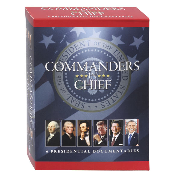 Commanders In Chief: 6 Presidential Documentaries DVD