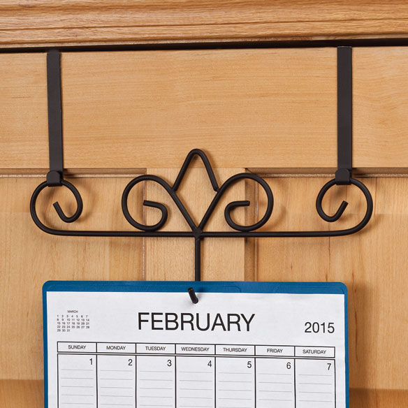 Over The Door Calendar Holder - View 1