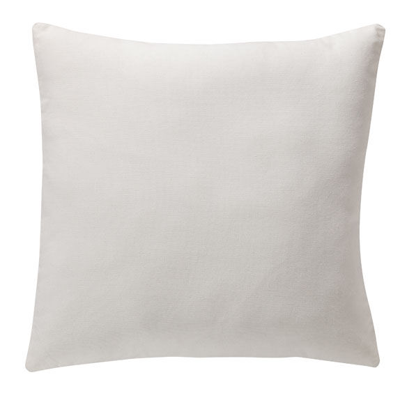 White Canvas Pillow Canvas Pillow White Pillow