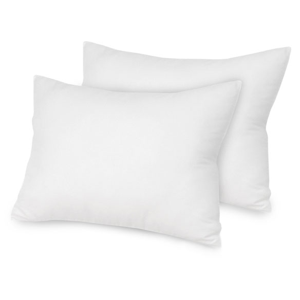 Ultra Fresh™ Antimicrobial Cotton Pillows - Set of 2