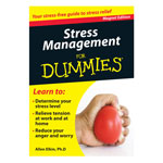 Books & Videos - Stress Management Refrigerator Magnet Book For Dummies®