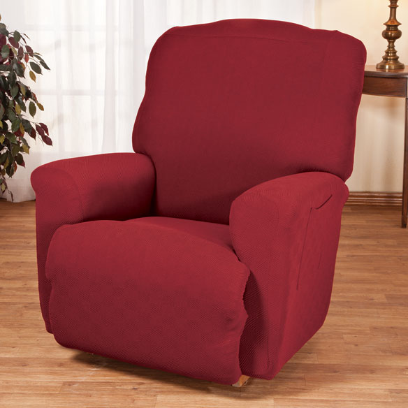 Newport Stretch Furniture Recliner Cover - View 1