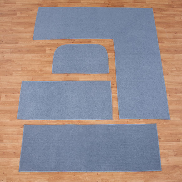 Solid Non Slip Rug - View 1