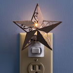 Home Lighting - Barn Star Nightlight