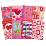 Memos, Notepads & Cards - Valentine's Day Card Assortment, Set of 24