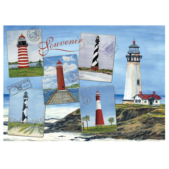 Lighthouse Jigsaw Puzzle, 750 Pieces