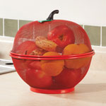 5 Star Products - Apple Shape Mesh Basket