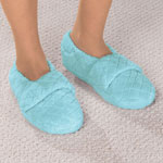 Comfy & Cozy - Chenille Stretch Slippers