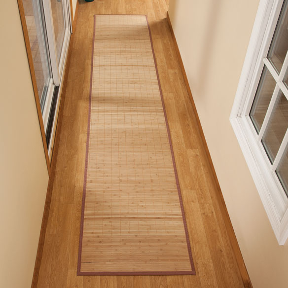 "Bamboo Floor Runner - 23"" x 118"""