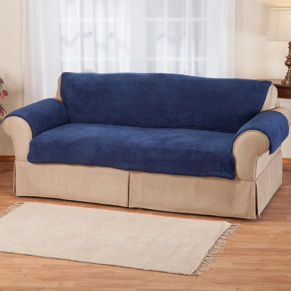 Sherpa Sofa Protector by OakRidge™ Comforts - View 1