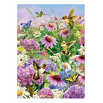 Home - Hummingbird and Coneflower Jigsaw Puzzle