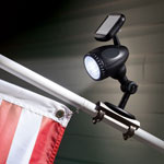 Outdoor Sale - Solar Flag Pole Light
