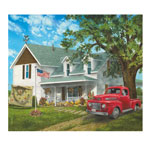 Holidays & Gifts Sale - Americana Farmhouse Jigsaw Puzzle