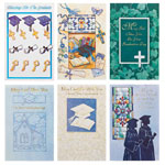 Christmas Cards - Religious Graduation Card Assortment - Set of 24