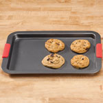 Bakeware & Cookware - Cookie Sheet With Silicone Handles