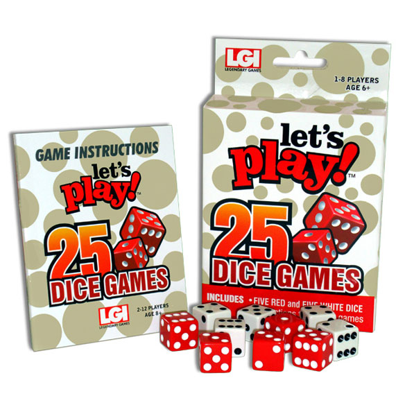 Let's Play™ 25 Dice Games