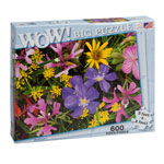Holidays & Gifts Sale - Wildflowers Jumbo 600-Pc. Puzzle
