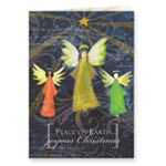 Holidays & Gifts Sale - Joyous Angel Trio Non Personalized Christmas Card, Set of 20