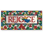 Holidays & Gifts Sale - Rejoice Christian Non Personalized Christmas Card Set of 20