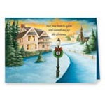 Holidays & Gifts Sale - Winter Path Non Personalized Christmas Card Set of 20