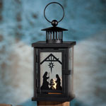 Outdoor - Nativity Lantern