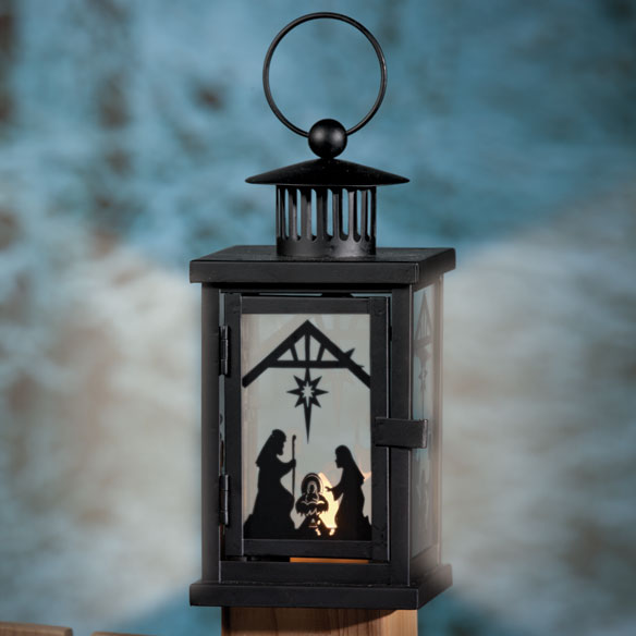 Nativity Lantern - View 1