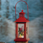 Decorations & Storage - Cardinal Lantern