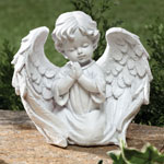 5 Star Products - Cherub Garden Statue