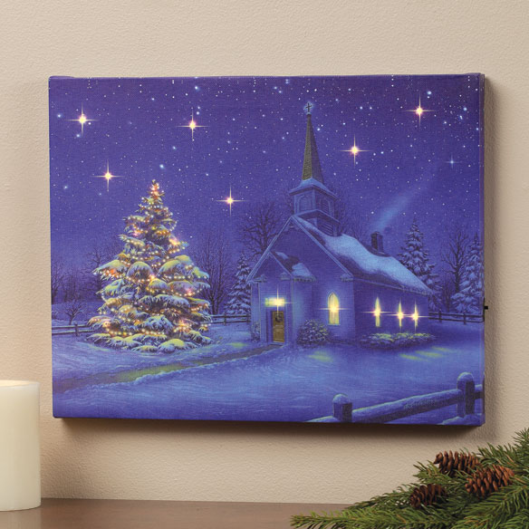 LED Church Canvas