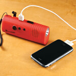 Safe Holiday Travel - Emergency Radio, Flashlight and Charger by LivingSURE™