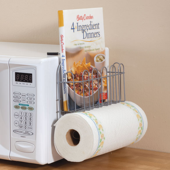 Over-the-Microwave Storage Rack