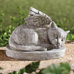 Outdoor - Resin Cat Memorial
