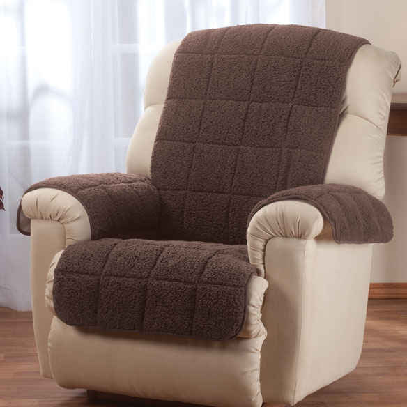Waterproof Quilted Sherpa Recliner Protector by OakRidge™ Comforts