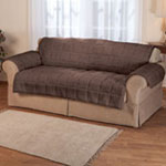 Waterproof Quilted Sherpa Loveseat Protector by OakRidge™ Comforts