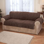 Waterproof Quilted Sherpa Sofa Protector by OakRidge™ Comforts