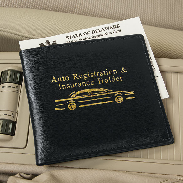 Auto Registration & Insurance Holder - View 1