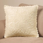 Decorations & Accents - Classic Windmill Crocheted Pillow Cover