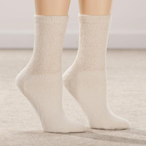 Healthy Steps™ 3 Pack Diabetic Socks - View 1