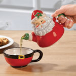 Table Top & Entertaining - Santa Teapot for One