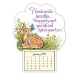 Labels & Stationery - Fawn Mini Magnetic Calendar