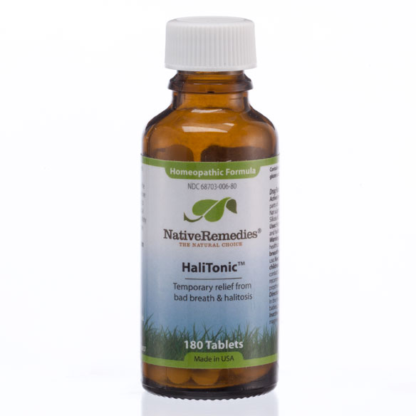 NativeRemedies® HaliTonic™ - 180 Tablets - View 1