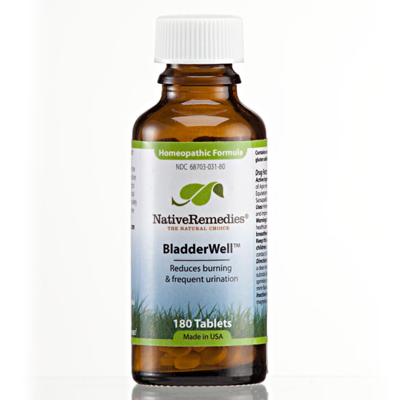 NativeRemedies® BladderWell™ Tablets - 180 Tablets